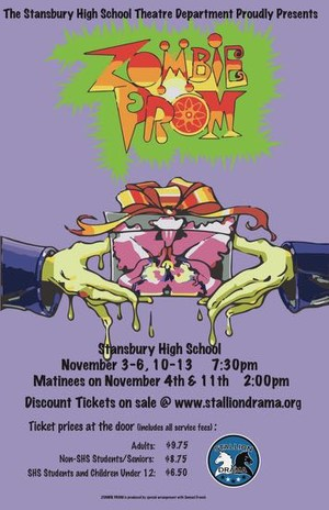 Zombie Prom poster.