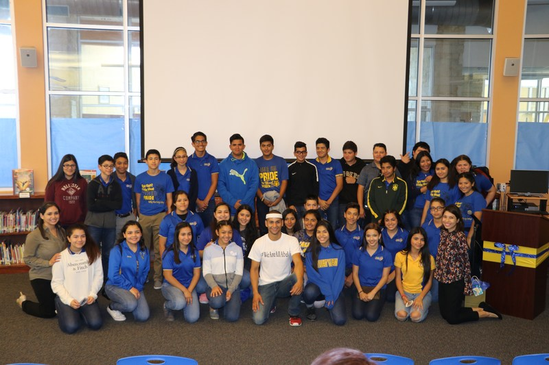 Abel Gonzalez from American Ninja Warrior was a guest speaker for our students here at ECC. Thumbnail Image