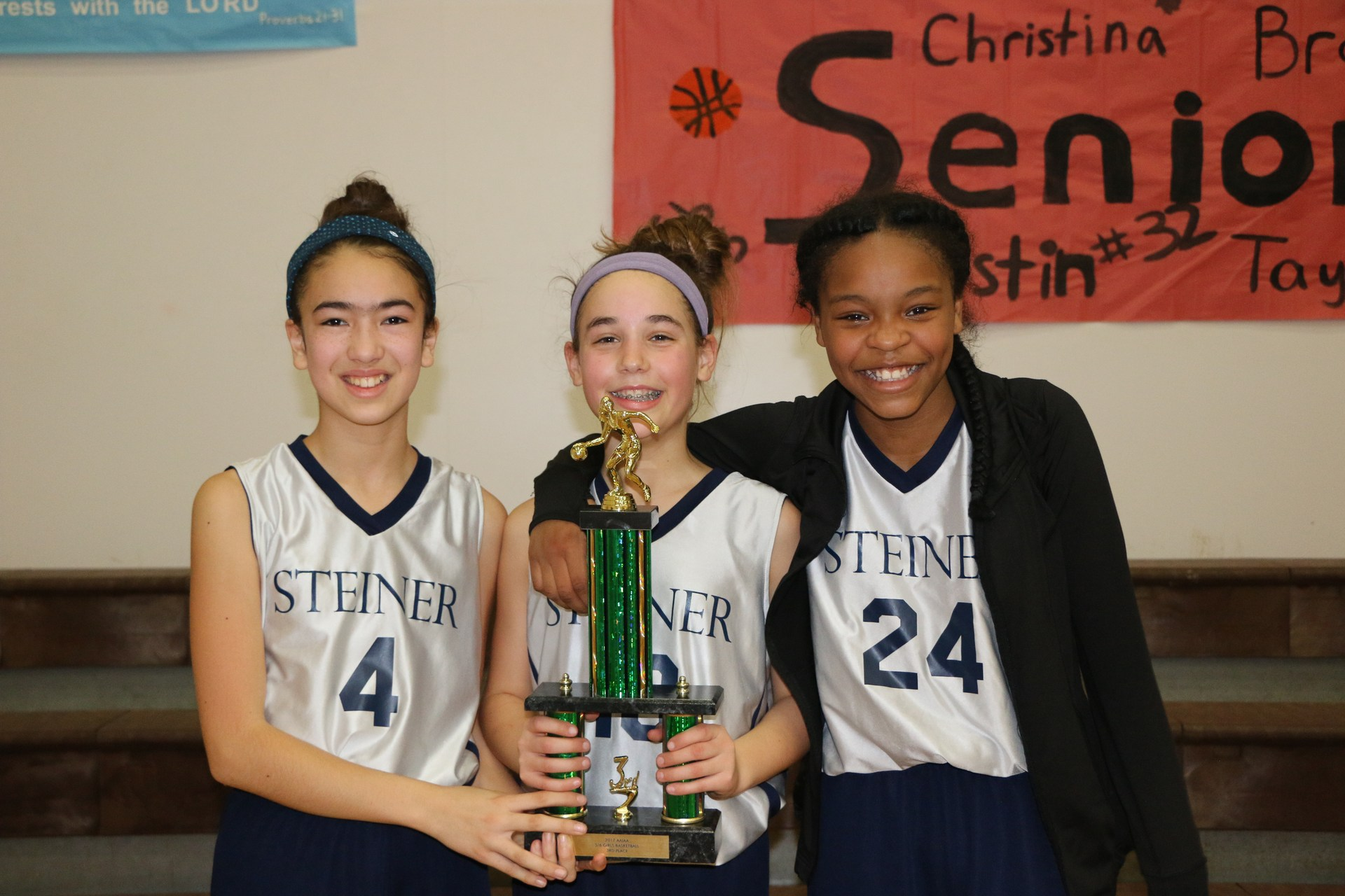 Lower School Girls Basketball Trophy