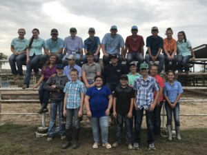 Group picture of FFA members
