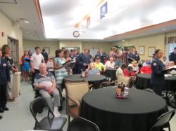 Cadets Vets Home Sep 2014 Group with Veterans.jpg