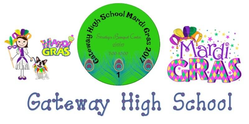 Gateway Mardi Gras Logo