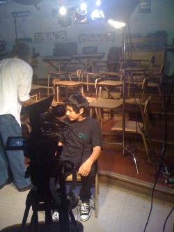 LAUSD MS Honor Chorus - Documentary featured chorus student