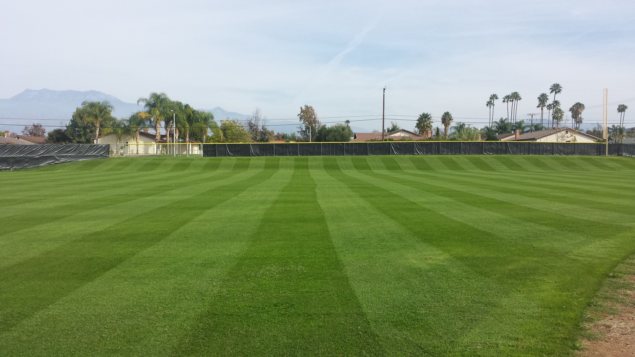 Tahquitz High softball field