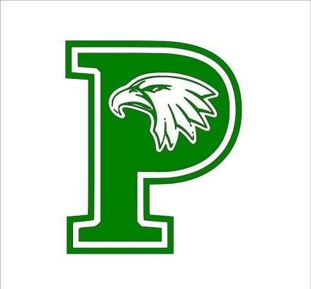 green letter P
