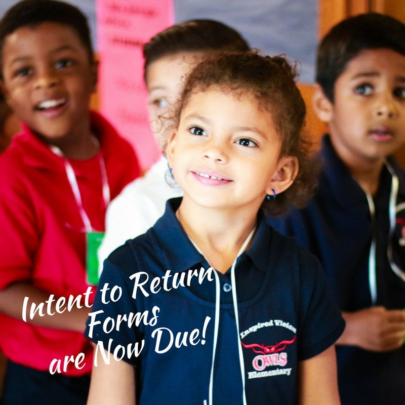 2018/2019 Intent to Return Forms Thumbnail Image