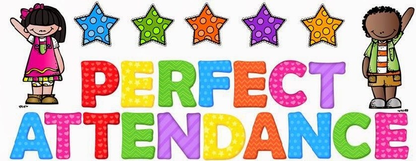 Image result for clip art images of perfect attendance