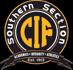 CIF Southern Section Logo in black and gold