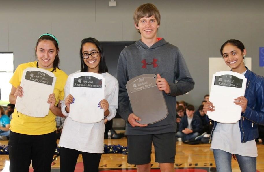 high school students won