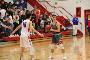 Reeds Spring High School senior Cole Nordin set a school record with 14 assists in one basketball game.