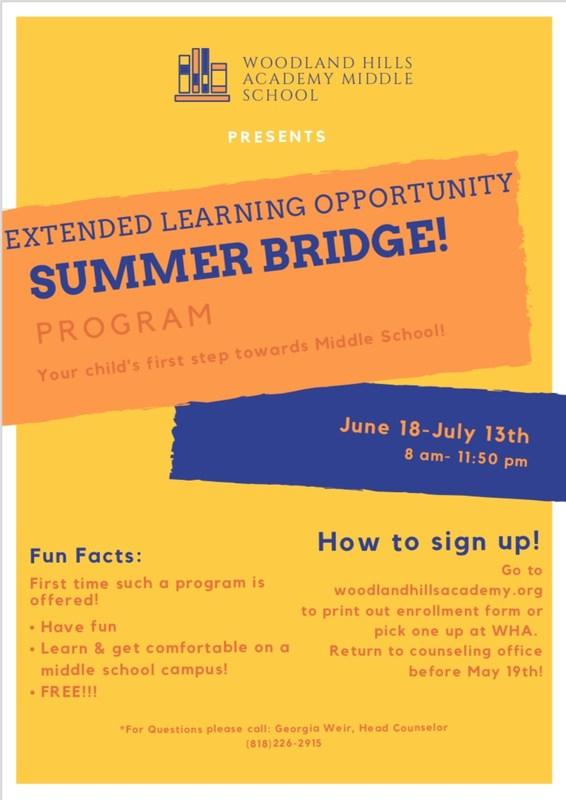 ELOS Summer Bridge Program for Current 5th Graders Thumbnail Image