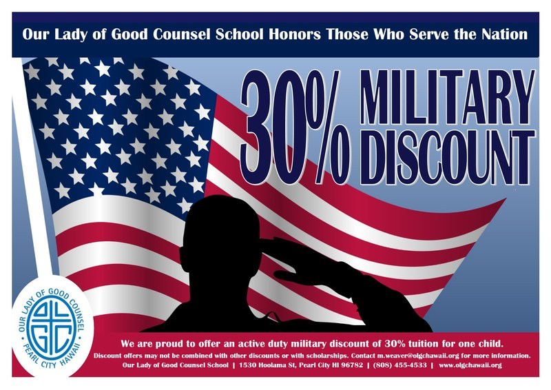 30% Military Discount Featured Photo