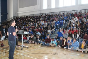 Students at Decker Middle School.