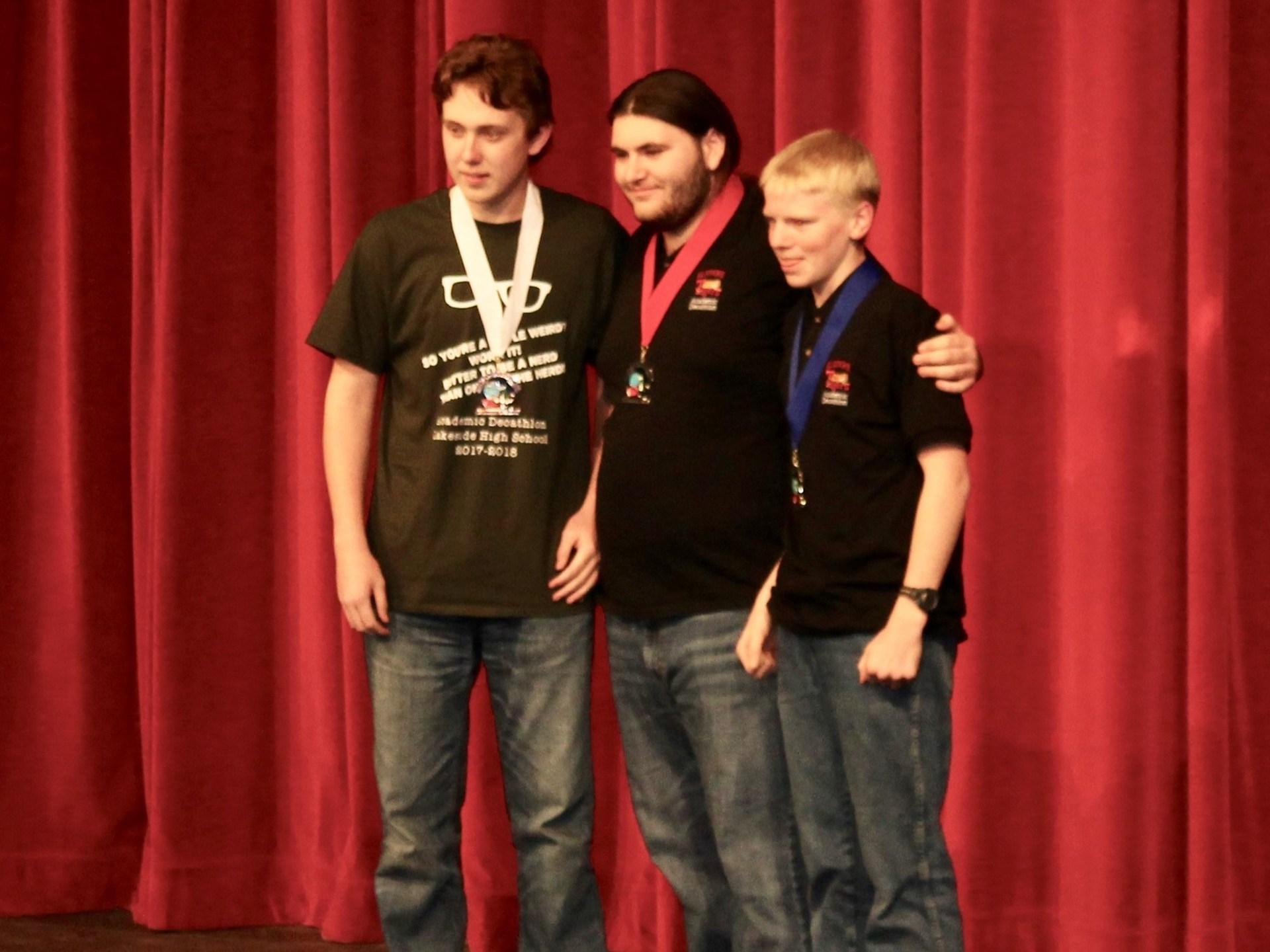 Tyler Goodrich (left)