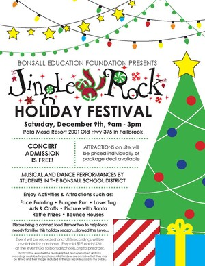 Jingle Rock flyer