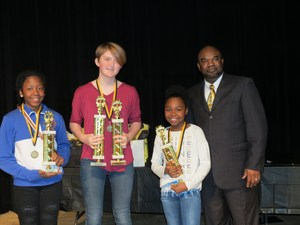 2018 VCS Spelling Bee Winners