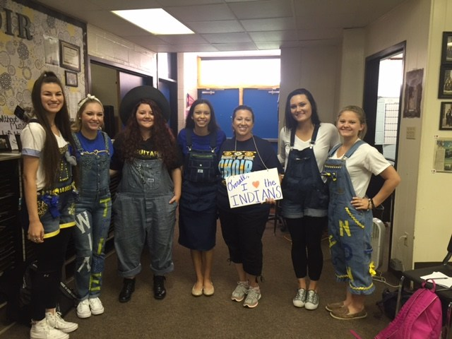 Homecoming Overalls Day