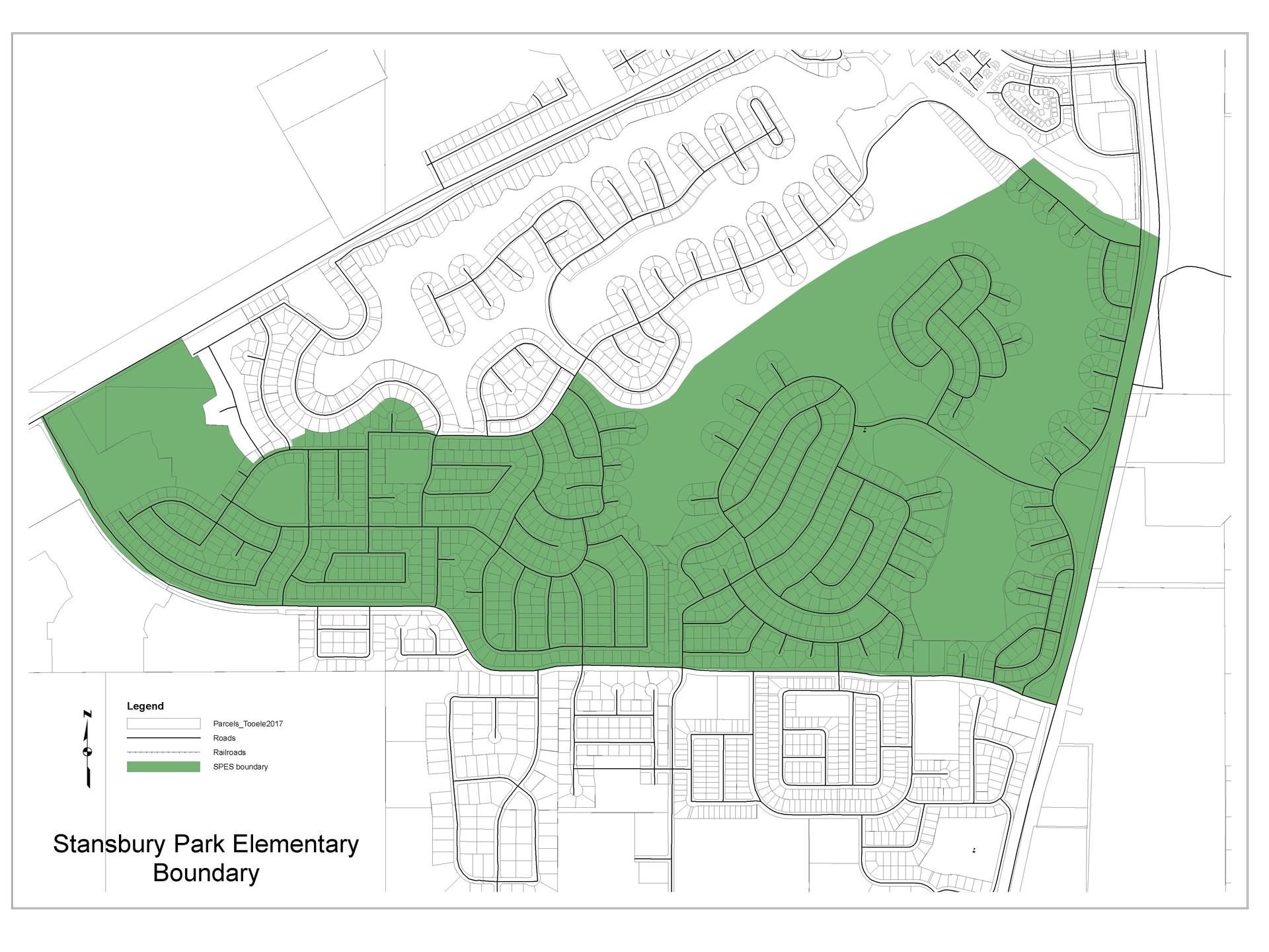 Stansbury Park Elementary Boundary