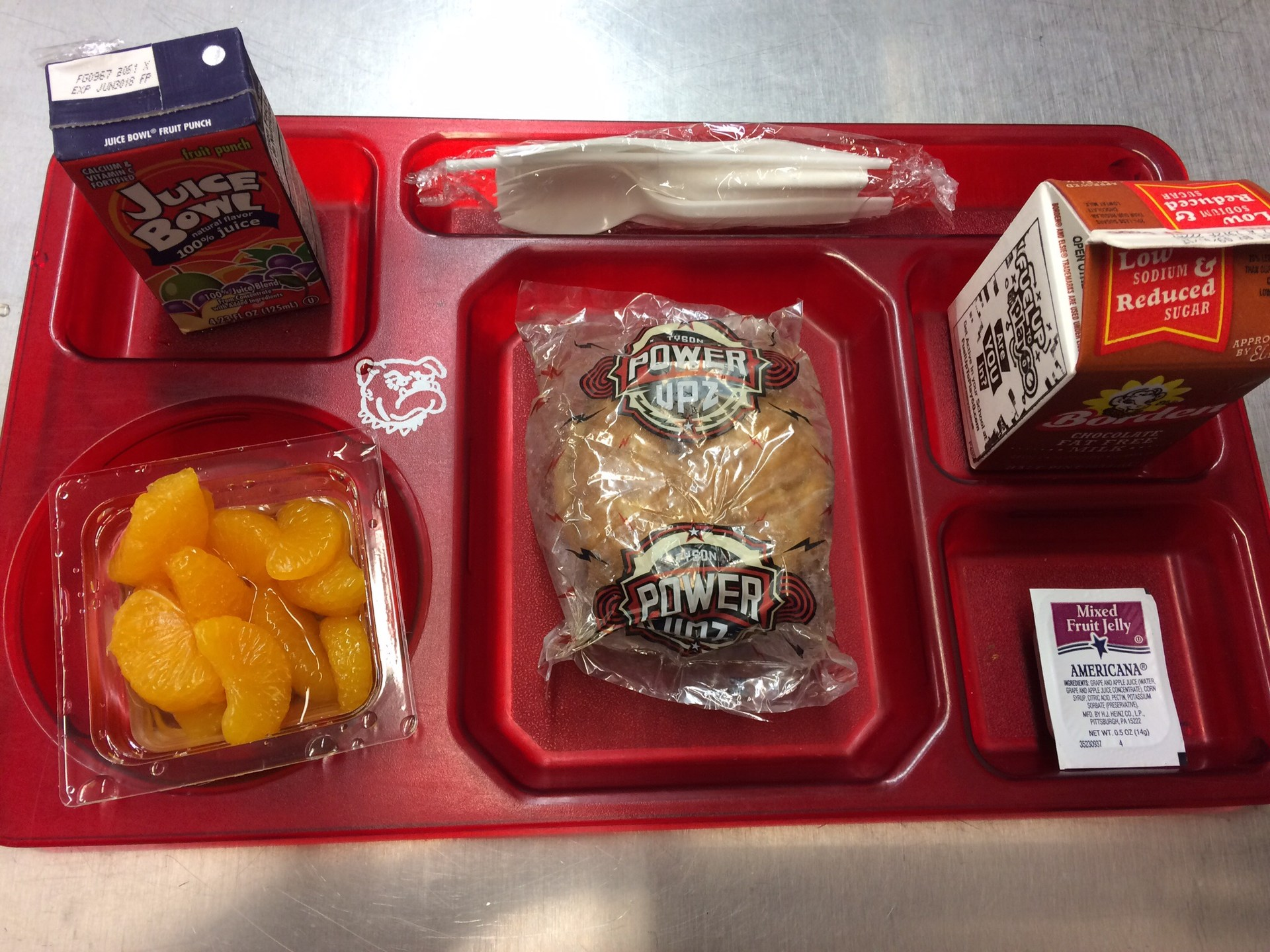 Sausage Biscuit Breakfast Tray