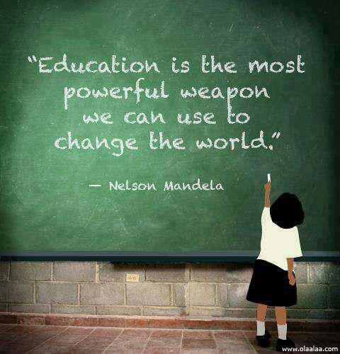 education can change world quote