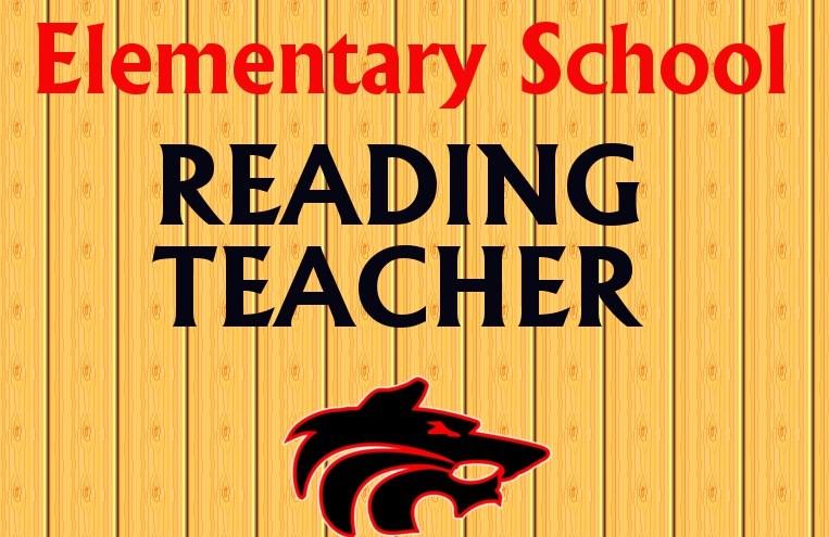 Elementary Reading Teacher