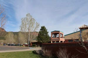 Exterior photo of Animas Valley Elementary.