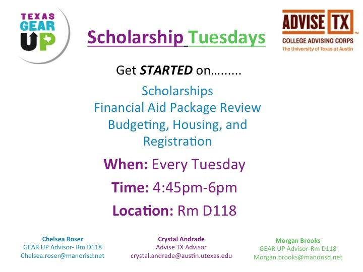 Scholarship Tuesdays
