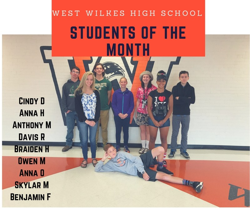 WWHS October Students Of The Month!! Thumbnail Image