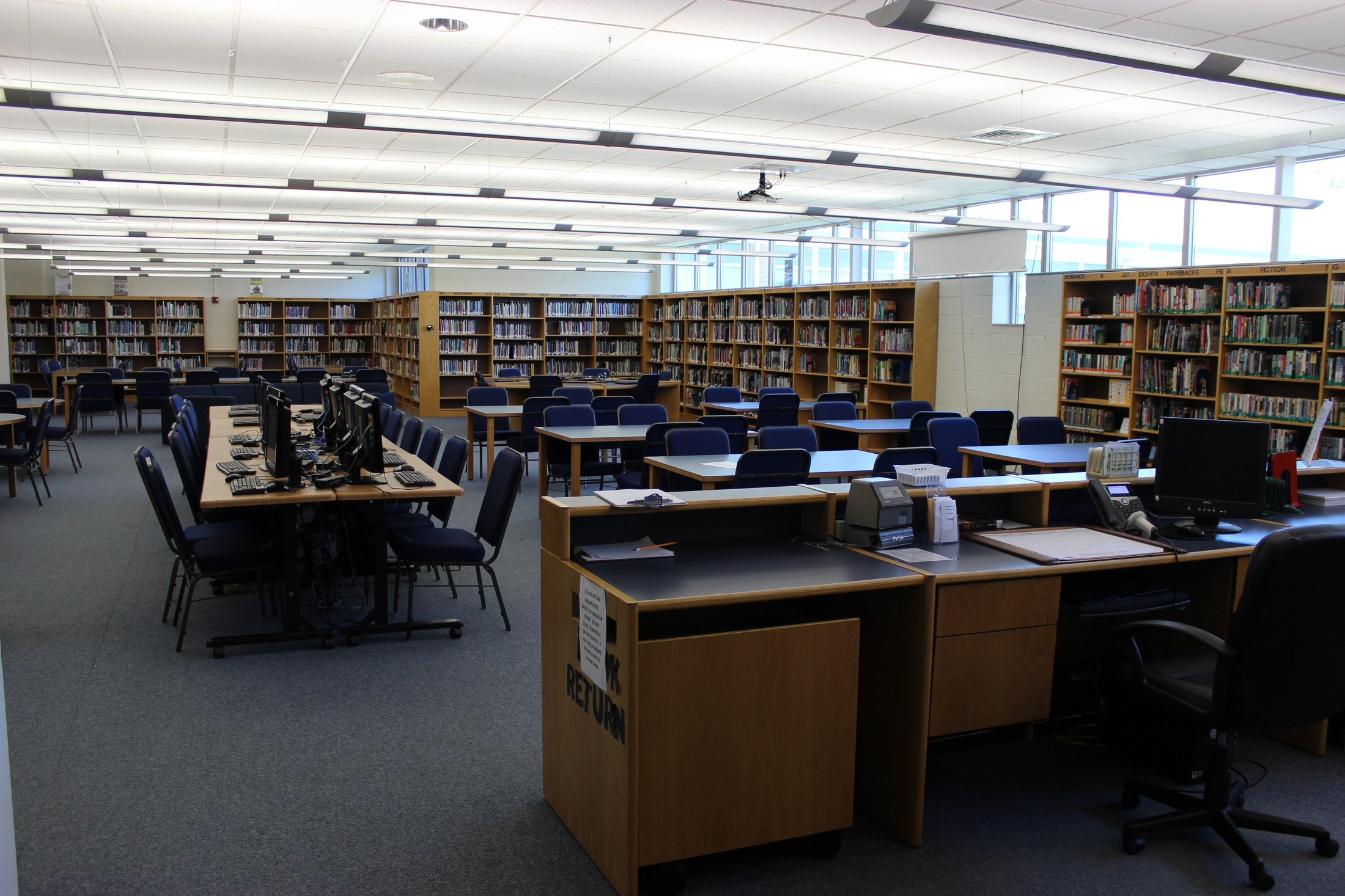 Gateway Middle School Library