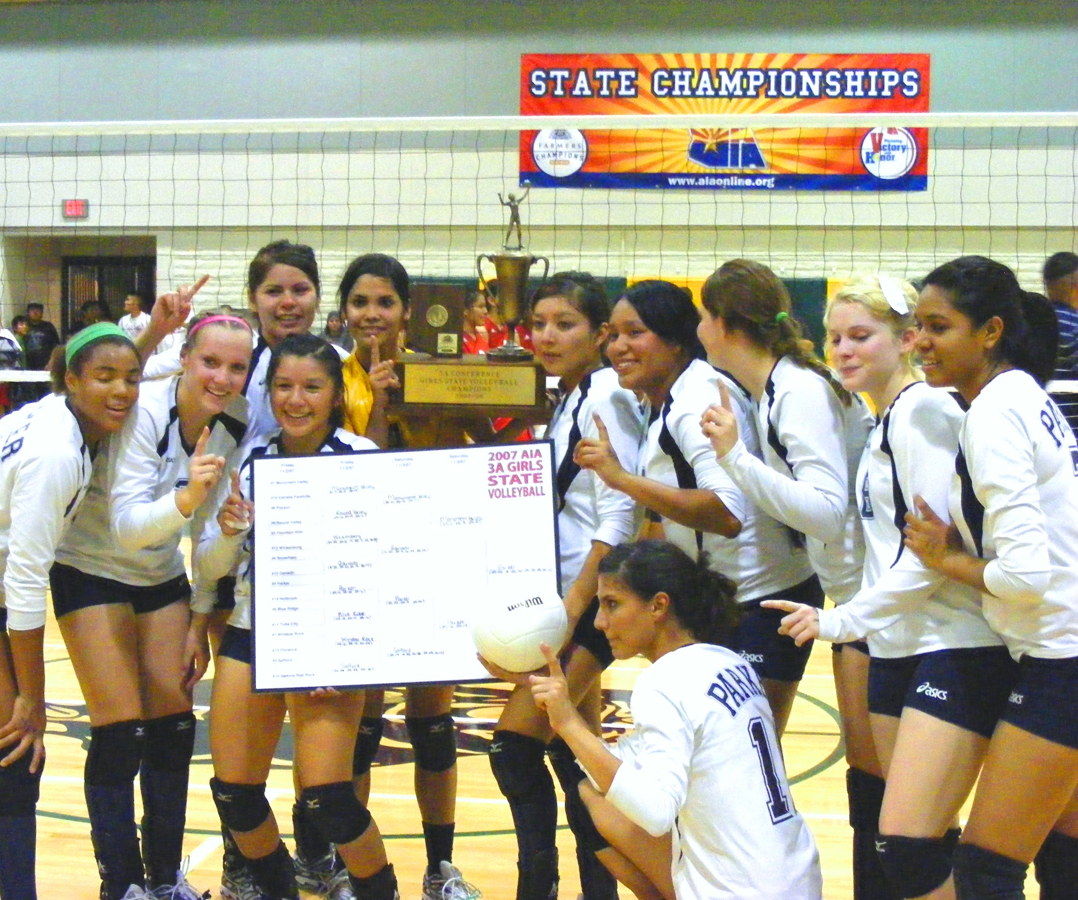 Volleyball girls photo of State Championship