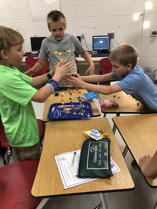 Mrs. Davis' class makes Jellybean Buildings Featured Photo