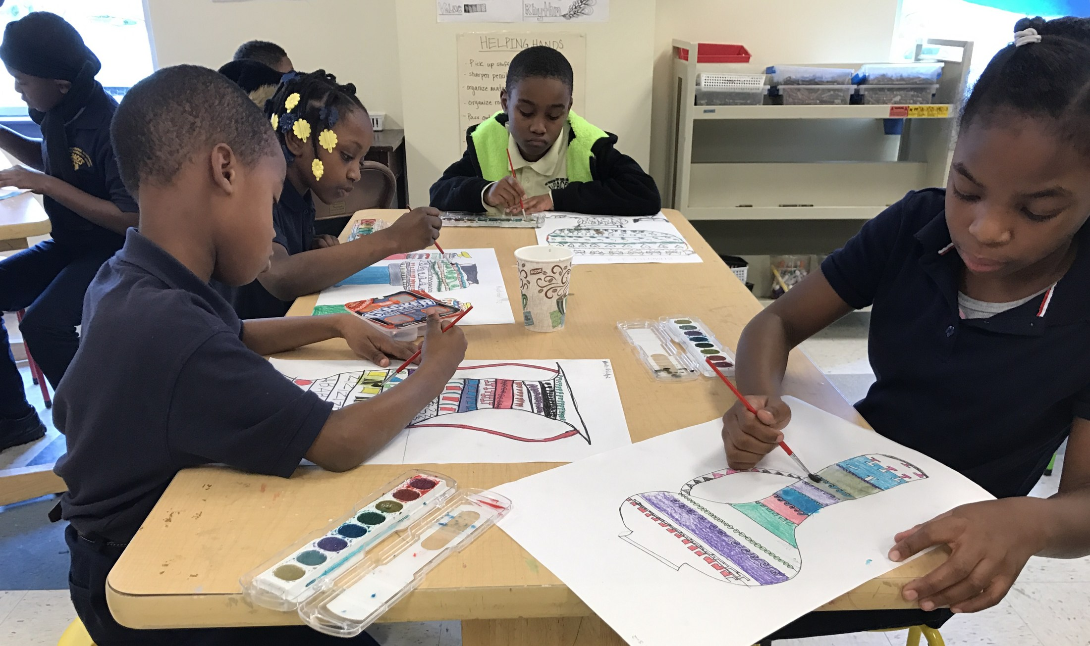 Art Class at WPACES