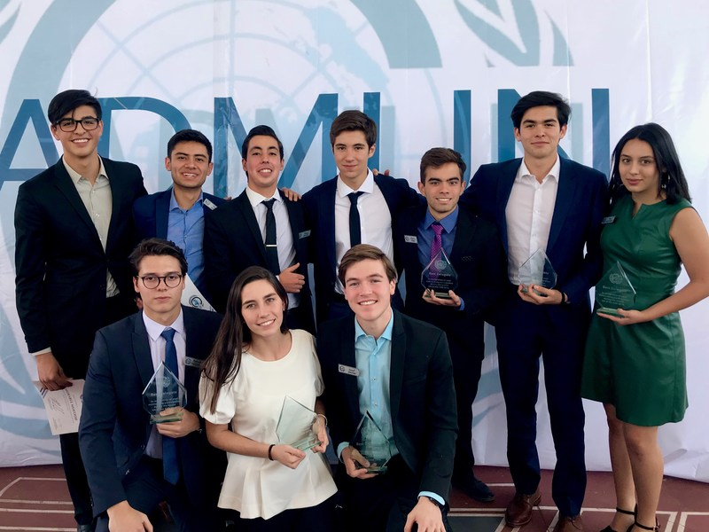 Outstanding participation of CAT students in Durango's MUN Featured Photo