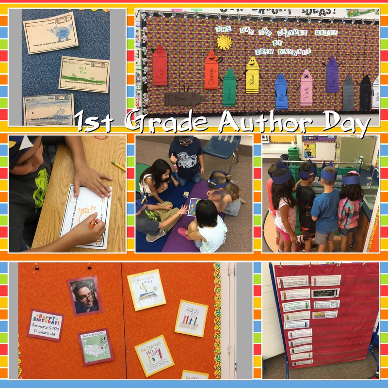 1st Grade's Author Day ~ Monday, June 5, 2017 Thumbnail Image