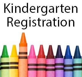 Kindergarten Registration with crayons