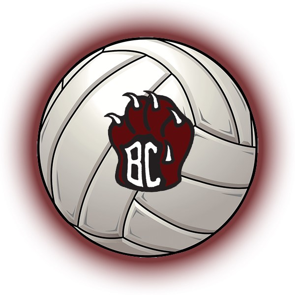 BCHS Volleyball Logo