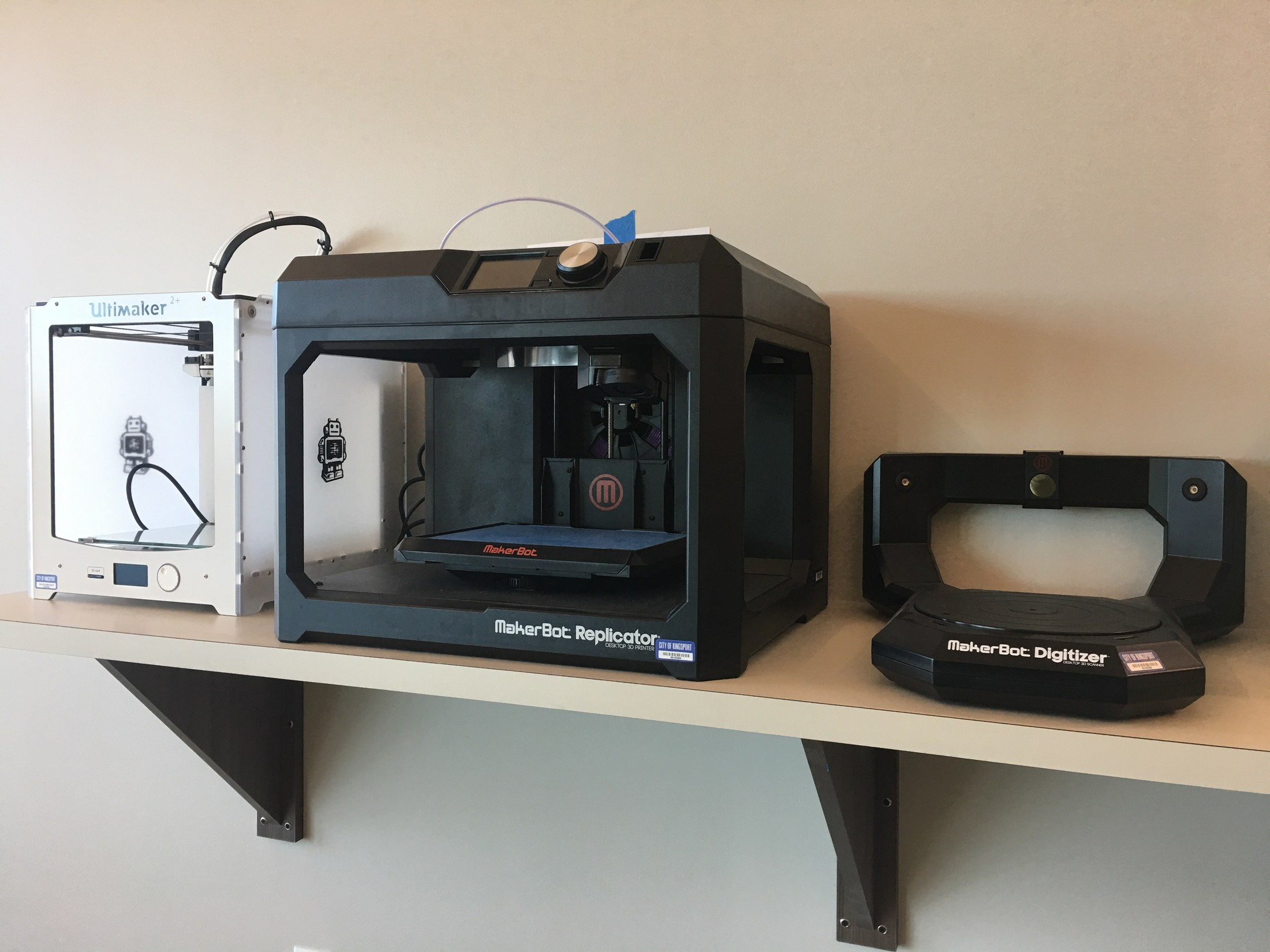 3D Printers and Scanner