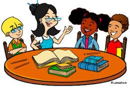 Picture of students being tutored
