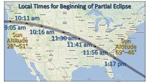 August 21, 2017 Solar Eclipse Map