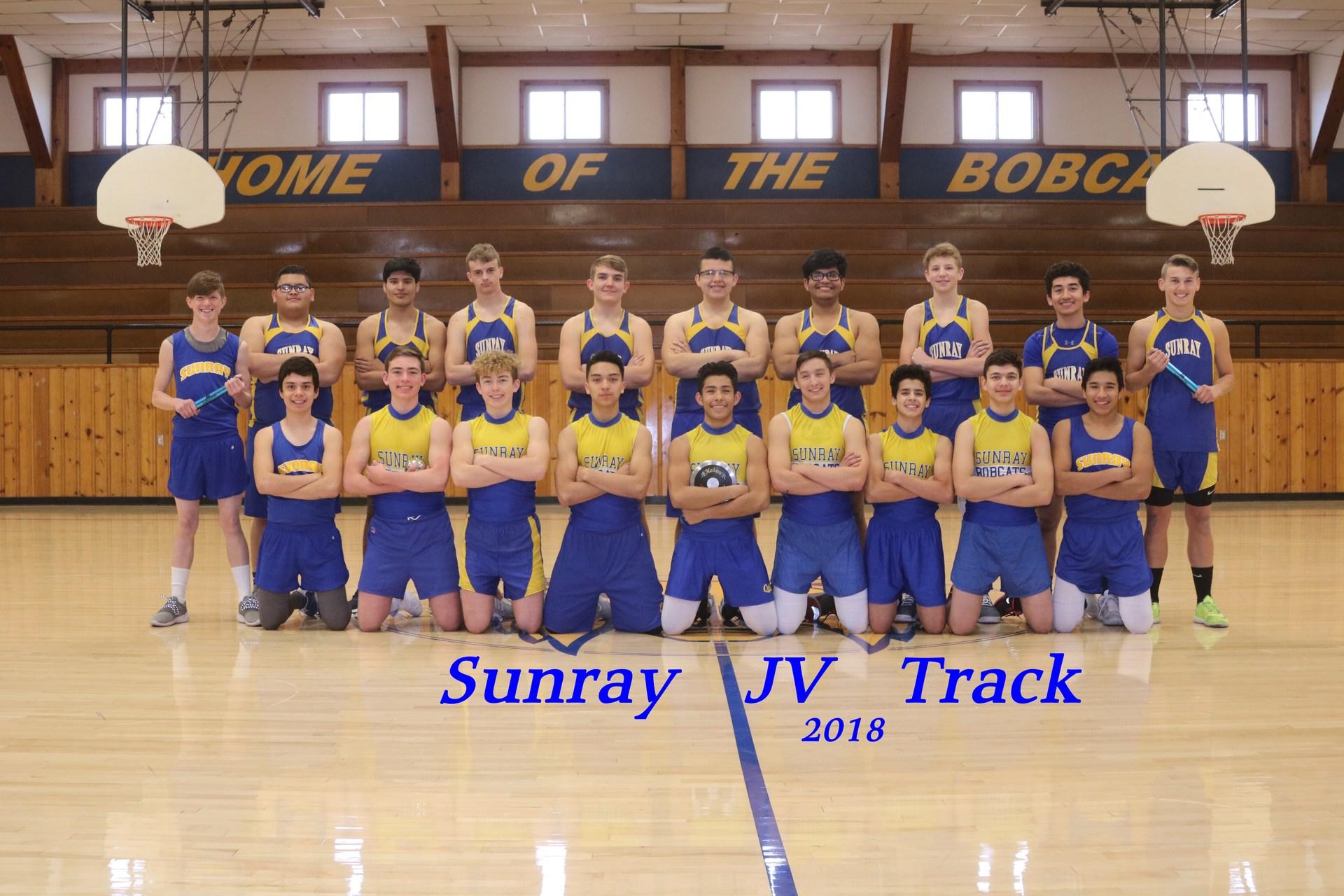 JV Boys Track Team