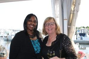 Dr. Linda Hobbs and L.I. Head Start's Annette Harris