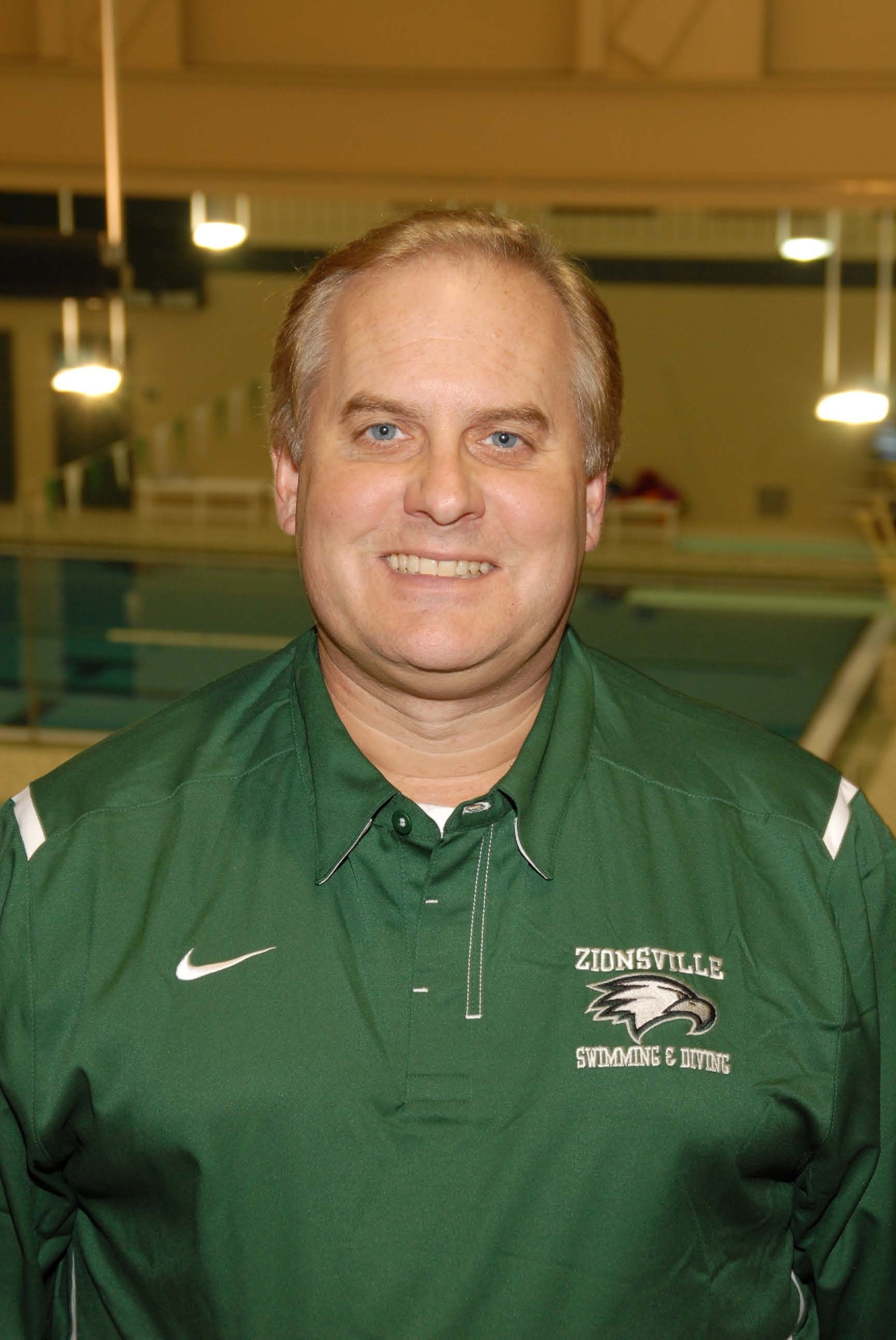 Scott Kubly, Head Coach Girls Swimming photo