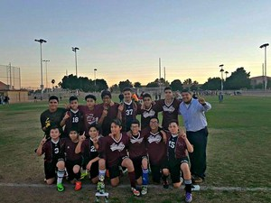 8th Grade Boys' Soccer Yuma County Champions 2016-2017