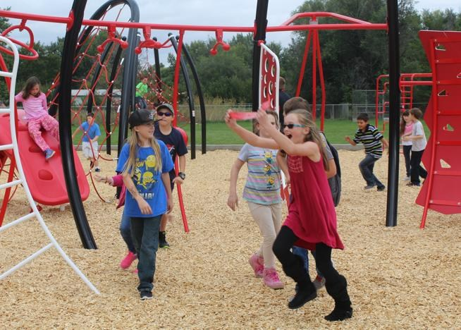 McKinley Elementary School gets new playground Thumbnail Image