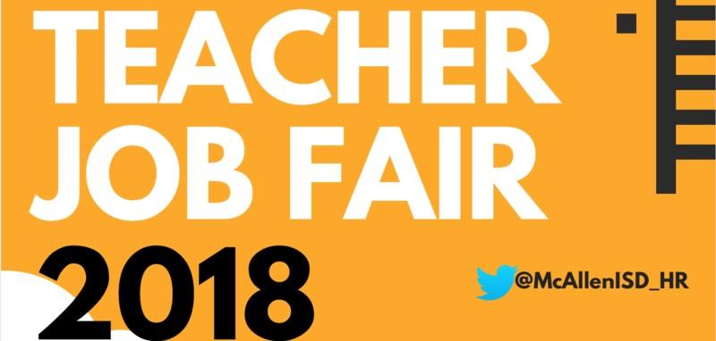 McAllen teacher job fair