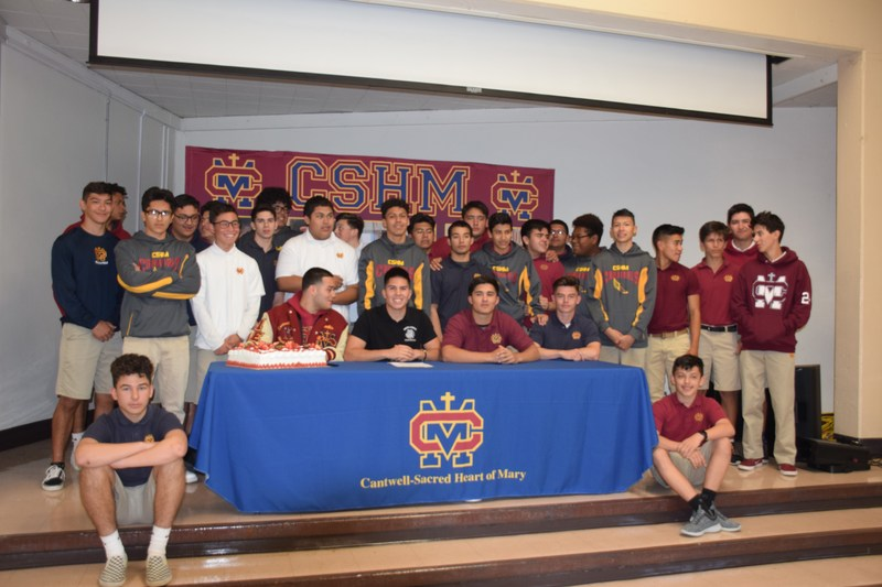 Congratulations Jalen Chavez on signing with the University of Redlands! Thumbnail Image