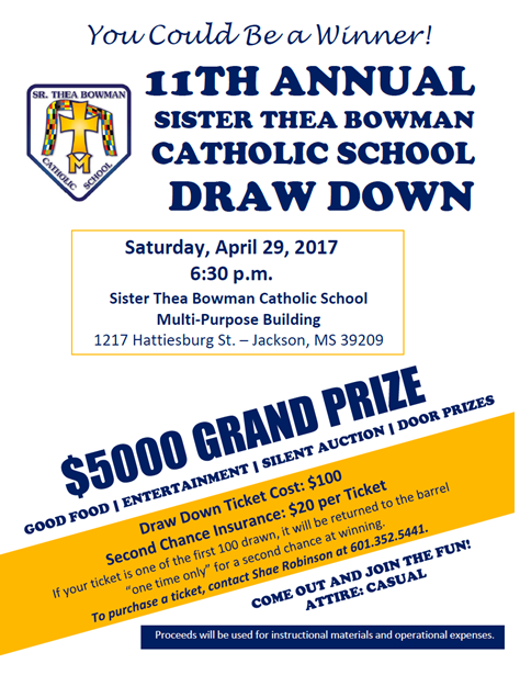 11th Annual STB DRAW DOWN Thumbnail Image