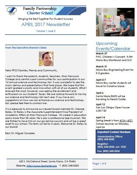FP April 2017 Newsletter Thumbnail Image