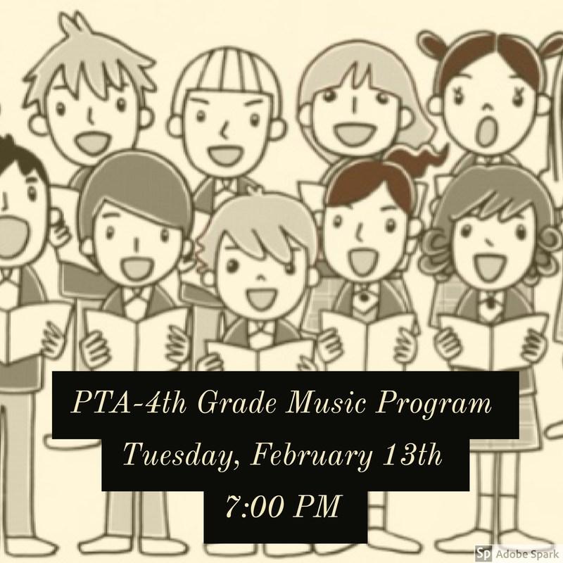PTA-4th Grade Music Program Thumbnail Image
