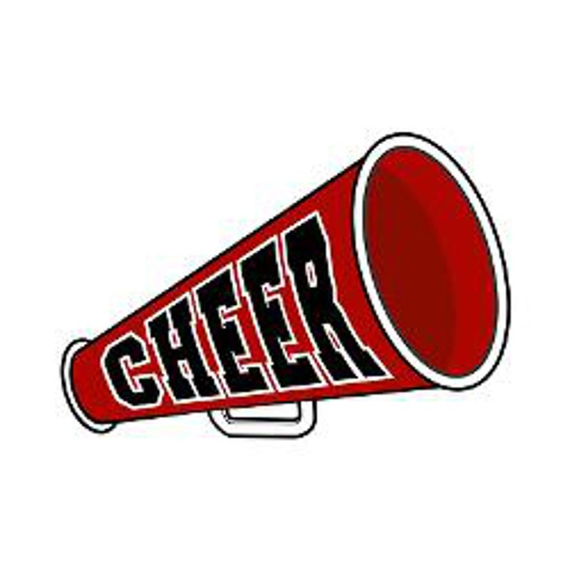 Red Cheer Megaphone
